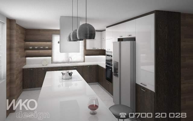 Мебели по поръчка - проект на кухня реализиран от ИИКО