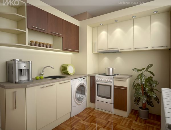 При мебели по поръчка кухнята създава чувство за безопасност с уникален дизайн