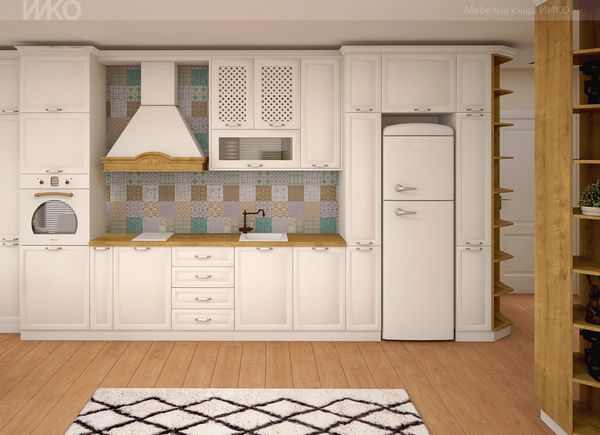 При мебели по поръчка кухнята създава чувство за безопасност и уют идеи