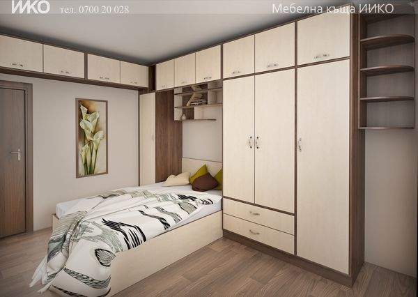 Мебели за спалня у дома